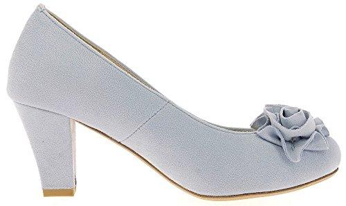 Azul Mujer Claro Andrea Para De Vestir Zapatos Conti FYBwq6Sg