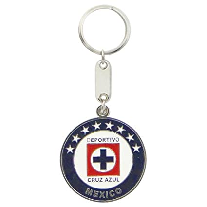 Keychain Mexico Soccer Team CRUZ AZUL