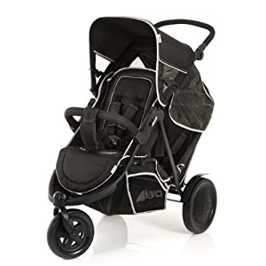 Hauck Freerider in Line Tandem Double Buggy - Black