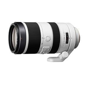 Sony SAL70400G2 lente de cámara - Objetivo (Telefoto, SLR, 18/12, 4-5,6, Automático/Manual, 70-400 mm)
