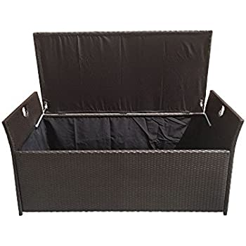 Amazon Com Large 64 Wicker Pillow Cushion Storage Box