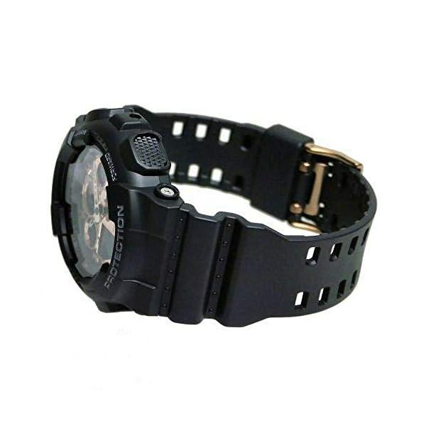 Casio Reloj Analógico-Digital para Hombre de Cuarzo con Correa en Resina GA-100MMC-1AER 5