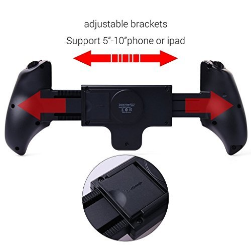 SmartOmni Ipega Wireless Telescopic Bluetooth Controller Ipega PG-9023 Joystick Gamepad for Android iPad iOS by Elecsmart