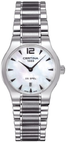 Certina C012.209.11.117.00 - Women's Wristwatch , Stainless Steel, color: argento