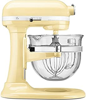 KitchenAid KF26M2XAC 6 Qt. Professional 600 With Glass Bowl Almond Cream