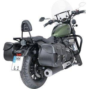 Bourses bisacce lat/érales Highway III Moto Harley Honda Yamaha Suzuki bourses bisacce lat/érales Highway Moto Aprilia Classic 125/Red Rose 50/Red Rose 125/daelim Daystar 125/Daystar 250