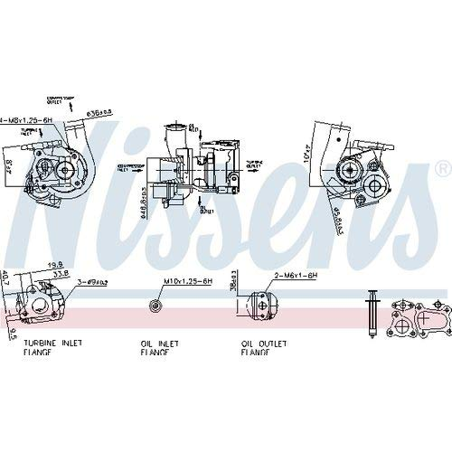 Nisss 93148 Turbo Charger: