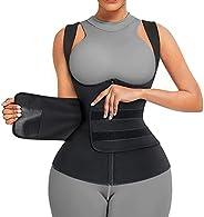 Gotoly Sauna Suit for Women Body Shaper Neoprene Sauna Sweat Vest Waist Trainer Zipper Tank Top Vest with Adju