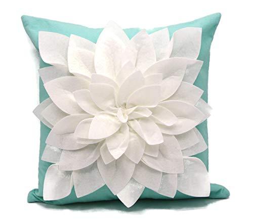 Flower Pillow - Decorative Throw Pillow - 17