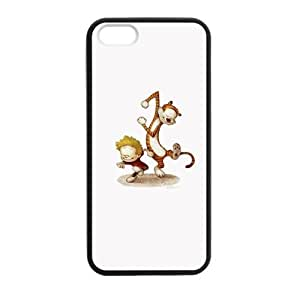 Pink Ladoo? Calvin and Hobbes Dancing Case Black Case cover for iPhone 5 5s protective Durable black case