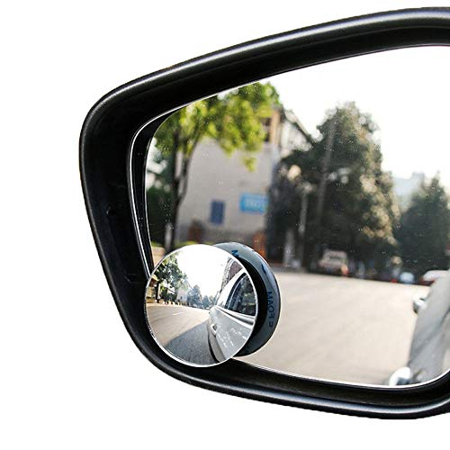 Wide Angle Mirror 2 Pcs Car Mirror Vehicle Wide Blind Spot Mirror Angle Round Convex Mirror Blind Spot Auto Rearview Car Accessories (Spiegel Runden)
