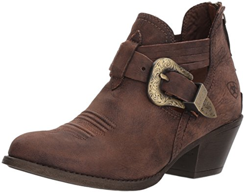 ARIAT Women's Dulce Western Boot Naturally Distressed Brown Size 8.5 B/Medium Us