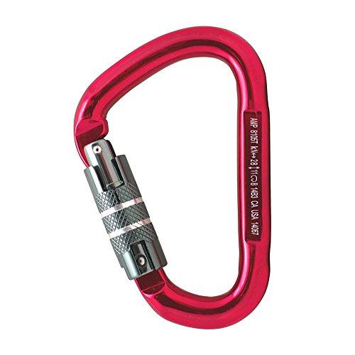 Fusion Climb Eureka Aluminum Triple Lock Pear Shape Carabiner Cypher Carabiner