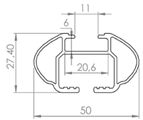 Stahl Dachtr/äger Aurilis Original kompatibel mit Mitsubishi Pajero IV ab 2006 5T/ürer V80 Dachbox VDPCA320 320Ltr carbonlook
