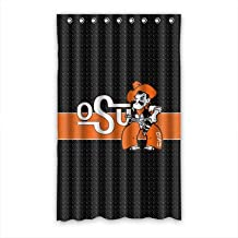 "Hot Kitchen Custom Oklahoma State Cowboys Insulated Window Curtain 52""x84"" (one piece)"