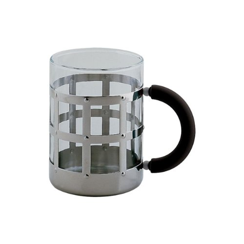 Alessi MGMUG B Decorative Mug, Black