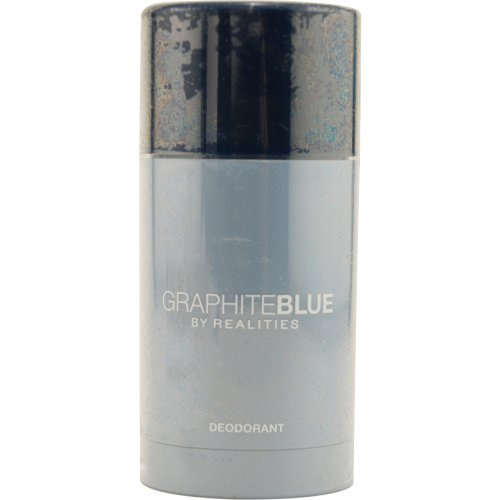 Liz Claiborne Realities Graphite Blue Deodorant Stick for Men, 2.5 Ounce