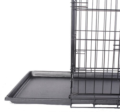 Eaglelnw 36'' 2 Doors Wire Folding Pet Crate Dog Cage Suitcase Kennel Playpen by Eaglelnw (Image #7)