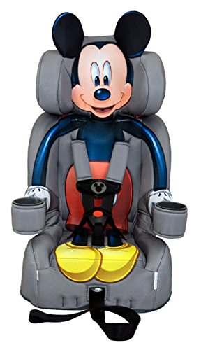 KidsEmbrace Disney Mickey Mouse Combination Harness Booster Car - Seat Booster Disney