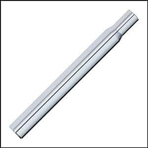 vela del asiento al 6061 t6 aluminio 30.4 x 300 mm plata