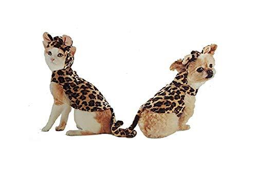 Hyde and Eek Cheetah Hoodie Pet Dog Costume - Extra Large -