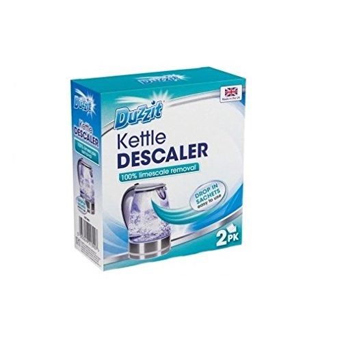 Duzzit Kettle Descaler Drop In Bag Kettle Cleaner Limescale Remover-2 Sachet 151