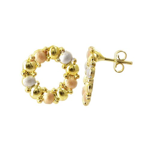gem avenue earrings gold - 3