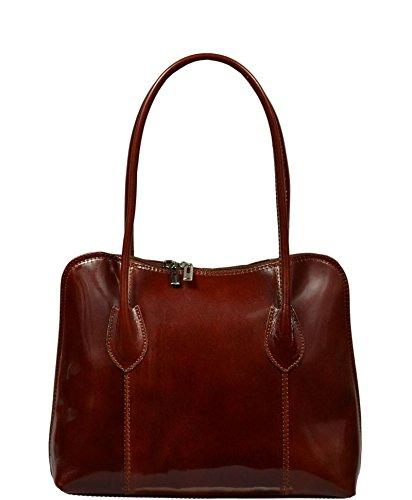 Neue Hand Tasche, Borsa a spalla donna marrone marrone 1