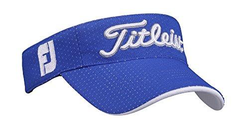 TITLEIST(タイトリスト) ラウンディッシュバイザー バイザー メンズ HJ7VRC-BL ブルー  サイズ:フリー(57-59cm)