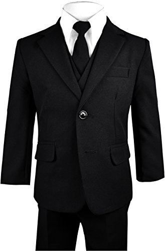 Black Bianco Solid Formal Outift