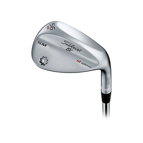 Titleist Vokey SM6 Tour Chrome Wedge Right 56 8 M Grind True Temper Dynamic Gold Wedge Vokey SM6 (Tour Chrome)