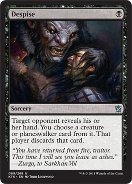 Magic: the Gathering - Despise - Khans of Tarkir