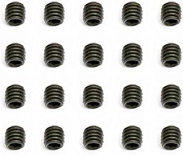 Qty 2 Socket Set Screw M3 x 5mm Plain 14.9 Grade Allen Grub Black 3mm