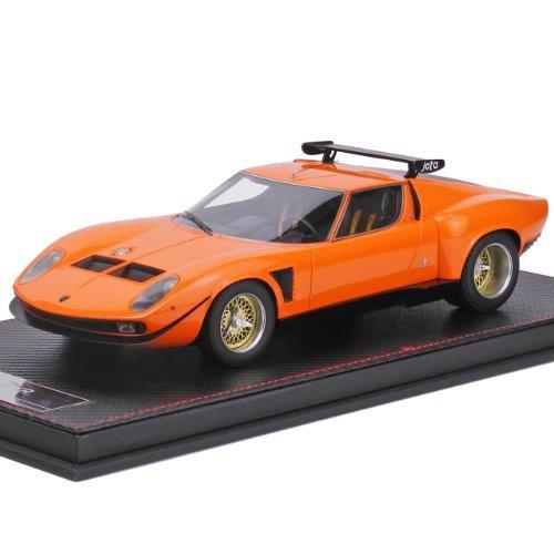 Kyosho Frontiart 1 18 Lamborghini Miura Jota Svr Orange
