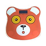 JTHKX Body Electronic Scale Health Weight Scale New Household Precision Bathroom Scale Body Scale Animal Electronic Scale,Orange