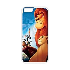 The Lion King Cartoon 7 iPhone 6 Plus 5.5 Inch Cell Phone Case White Customized Toy pxf005_9659387