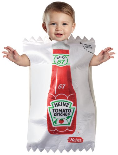 Heinz Ketchup Packet Bunting Infant Costume ()