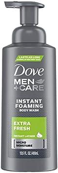 Dove 13.5 fl oz Men+care Extra Fresh Foaming Body Wash