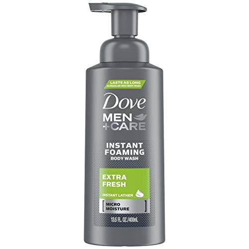 Dove Men+care Foaming Body Wash, Extra Fresh, 13.5 Ounce