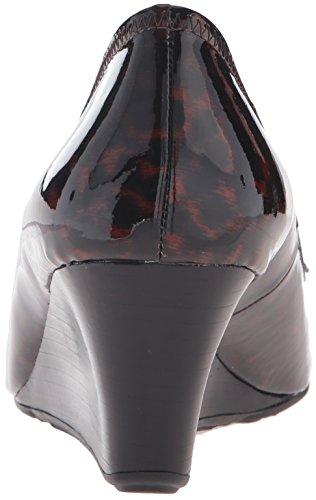 Cole Haan Womens Tali Grand Bow Wedge Pump Tortoise Print Patent 3Aimpga87H