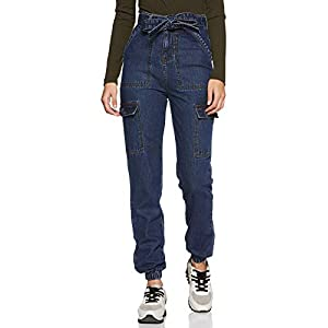 AKA CHIC Women's Tapered Fit Skinny Jeans