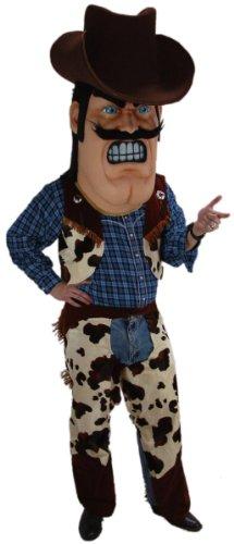 Cowboy Mascot Costume -