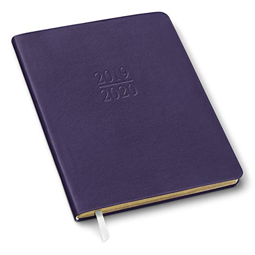 2019/2020 Gallery Leather Academic Planner Camden Violet 9
