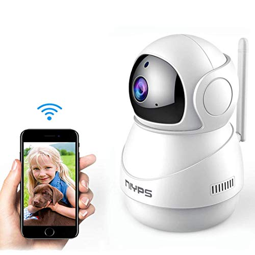 Wireless WiFi IP Camera, NIYPS HD 1080P Indoor Nanny Cam Home Security Surveillance System with Two-Way Audio,Night Vision and Motion Detection for Baby/Elder/Pet/Dog Monitor
