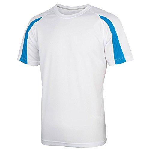 Absab Blue shirt T Sapphire Courtes Homme Arctic Manches White Ltd OqrwnSgO