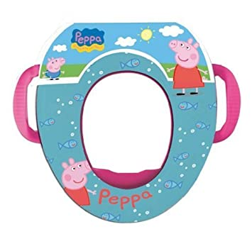 Soft Padded Peppa Pig Kids Potty Toilet Training Seat WC Child Toddler