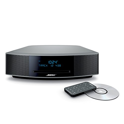 bose wave music system iv platinum silver import it all. Black Bedroom Furniture Sets. Home Design Ideas