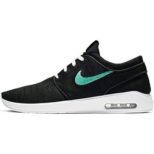 Nike Men's SB Air Max Janoski 2 Skateboarding Shoe (Black/Mint-Black, 10.5 M US) ()