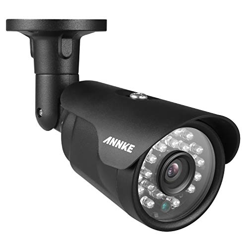 (ANNKE 1080P Security Camera, TVI/AHD/CVI/CVBS 4-in-1 2.0MP CCTV Bullet with All-Metal Housing, IP66 Weatherproof Indoor/Outdoor, Super Night Vision, Smart IR Function)