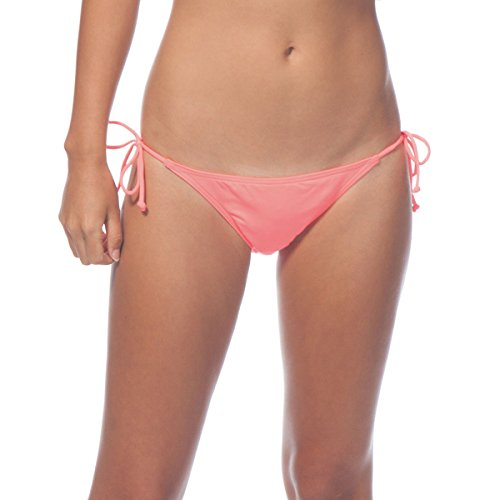 Rip Curl Womens Love N Surf Side Tie Bottom Small Hot Coral